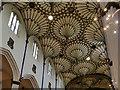 NT2473 : St John's, Edinburgh: fan-vaulted ceiling by Stephen Craven