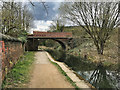 SD7706 : Manchester, Bolton and Bury Canal, Bridge#16 (Nickerhole) by David Dixon