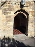 ST3049 : Porch, St Andrew's Church,  Burnham on Sea by thejackrustles