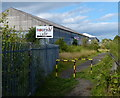 NT3193 : Fife Coastal Path next to the Frances Industrial Park by Mat Fascione