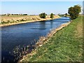 TL4397 : The River Nene (old course) east of March by Richard Humphrey