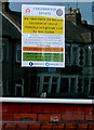 ST3089 : Coronavirus update notice, Malpas Road Evangelical Church, Newport by Jaggery