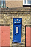 TM2532 : Victorian postbox, Harwich Station by N Chadwick