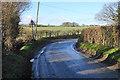 TL1509 : Bend on Sandridgebury Lane by Bill Boaden