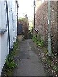 SX9192 : Peep Lane, St David's, Exeter by David Smith