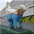 SJ3390 : Superlambanana, Museum of Liverpool by Rudi Winter