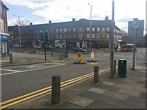 TQ2688 : Kingsley Way at the junction of Market Place by David Howard