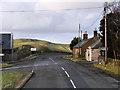 NT1244 : A72/A701, Kirkdean Crossroads by David Dixon