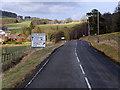 NT1244 : A72/A701, Blyth Bridge by David Dixon