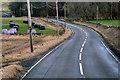 NT1742 : A72 between Tarth Bridge and Hallyne by David Dixon
