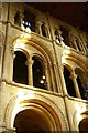 TL1998 : Peterborough Cathedral, south transept by Christopher Hilton