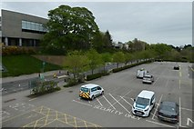 SE6250 : Central Car Park from Library Bridge by DS Pugh
