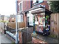 SE2535 : Little Free Library, Landseer Grove, Bramley by Stephen Craven