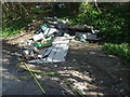 ST5966 : This week's fly-tipping by Neil Owen