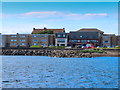 NS2441 : Amusement arcade by Saltcoats Harbour by Steve Daniels