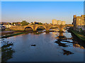 NS3322 : Auld Bridge over the River Ayr by Steve Daniels