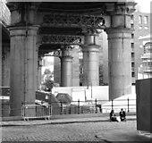 SJ8397 : Castle Street, Manchester by habiloid