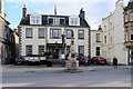 NT2540 : Peebles High Street, Tontine Hotel and Veitch Memorial by David Dixon