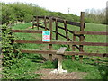 NZ3273 : Stile near the Beehive Inn, Whitley Bay by Geoff Holland