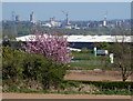 SP5399 : View towards the Leicester city skyline by Mat Fascione