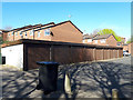 SE2434 : Lock-up garages at the top of Snowden Royd, Bramley by Stephen Craven