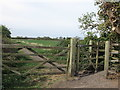 NZ3373 : Kissing Gate at Beaumont Park Housing Estate, Whitley Bay by Geoff Holland