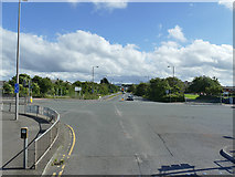 NT2276 : Junction of Waterfront Broadway and West Granton Road by Stephen Craven