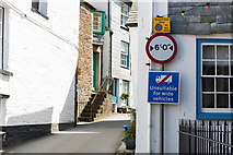 SW9980 : Church Hill in Port Isaac by Mike Lyne