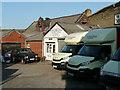 SE1423 : Yard that was Fox Glove Farm, Brighouse by Humphrey Bolton