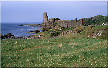 NS2515 : Dunure Castle by Richard Sutcliffe