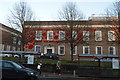 TQ5839 : Poppies, Tunbridge Wells Town Hall by N Chadwick