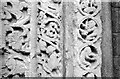TL5480 : The Prior's Doorway, Ely Cathedral, 1961 – detail by Alan Murray-Rust