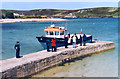 SV8814 : On the Quay, Bryher by Des Blenkinsopp