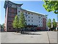 ST3089 : NE side of Ibis Budget hotel, 164 Malpas Road, Newport by Jaggery