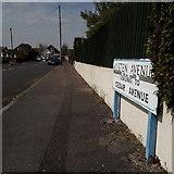 SZ0896 : Northbourne: Austen Avenue by Chris Downer