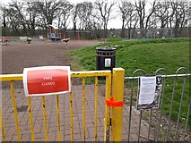 NZ2567 : Playpark, Paddy Freeman's Park, Newcastle upon Tyne by Graham Robson