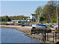 SD7909 : Elton Sailing Club by David Dixon