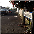 SZ0995 : Moordown: Bankside Road by Chris Downer