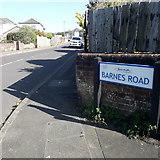 SZ0795 : Ensbury Park: Barnes Road by Chris Downer