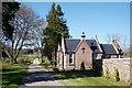 NH6455 : South Lodge near Munlochy by Julian Paren