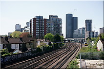 TQ3266 : View Towards East Croydon by Peter Trimming