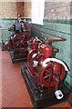 SJ8333 : Mill Meece Pumping station - compressors by Chris Allen