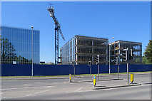 TL4661 : New buildings on Cambridge Science Park by John Sutton