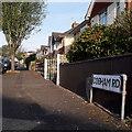 SZ0995 : Moordown: Cobham Road by Chris Downer