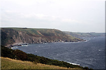 SX5646 : Coastline at Row Cove near Noss Mayo by Colin Park
