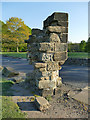 SE2536 : The Vesper Gate, Kirkstall Abbey Park by Stephen Craven