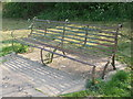 ST6270 : An old iron bench by Neil Owen
