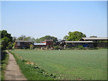 SK8354 : Rose Vale Farm, Coddington by Jonathan Thacker