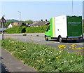 ST3090 : Waitrose home delivery van descending Malpas Road, Newport by Jaggery