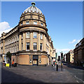 NZ2464 : Boarded up restaurant, Market Street, Newcastle upon Tyne by Graham Robson